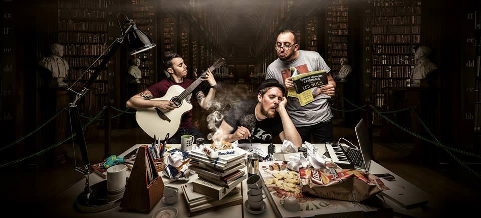 Les 3 fromages préparent leur 4ème album