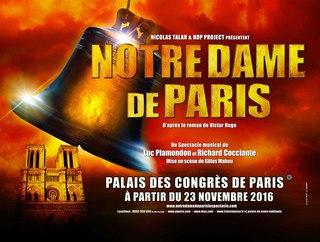 Affiche spectacle Notre Dame de Paris