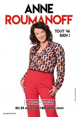 Anne Roumanoff - Tout va bien - Casino de Paris