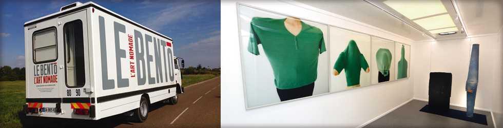 Bento : un camion d'art contemporain itinérant dans l'Yonne