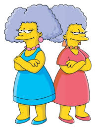 Bouvier et Patty Selma