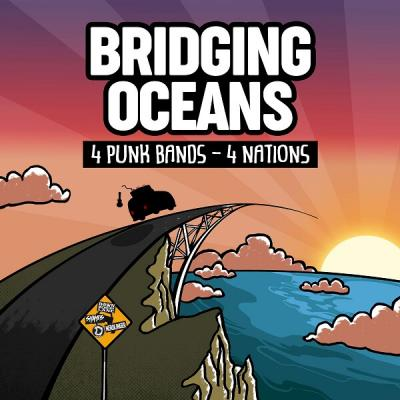 Bridging oceans - split artwork Bridging oceans