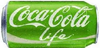 Canette Coca Cola Life
