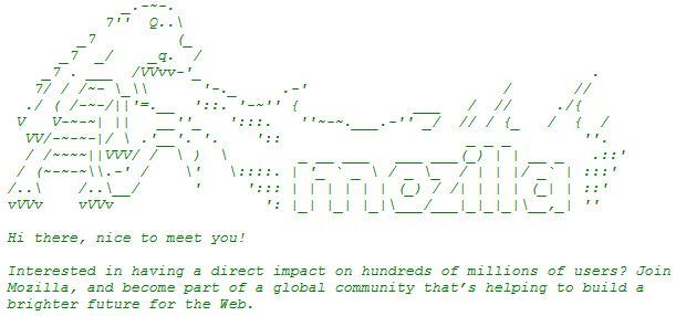 Capture code html nouveau firefox