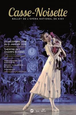Casse noisette - Théâtre des Champs Elysées