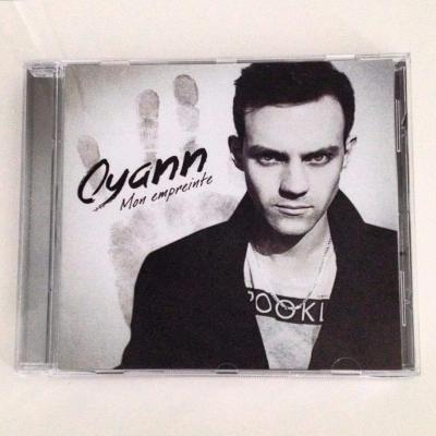 CD album Mon empreinte d'Oyann