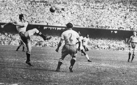 Coupe du Monde le Brésil en 1950