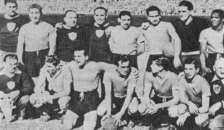 Coupe du Monde L'équipe de l'Uruguay en 1950