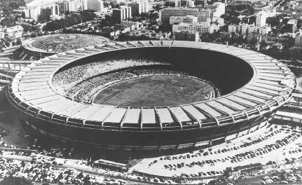 Coupe du Monde au Brésil Stade en 1950