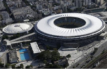 Coupe du monde au Brésil stade Maracana en 2014
