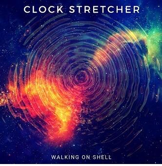 Clock stretcher pochette Walking on shell
