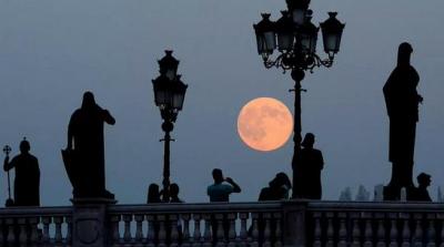 Eclipse lunaire 2015 super lune de sang