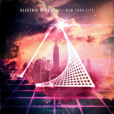 Electric pyramid - New York city