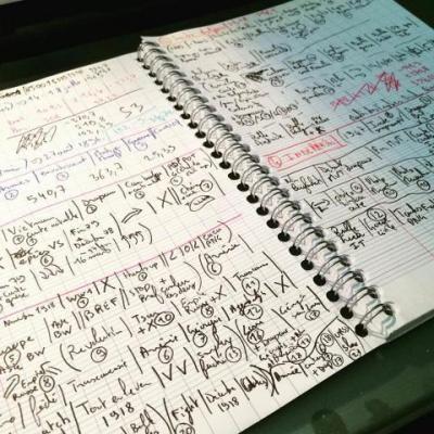 Etapes préparatoires notes vidéo Doc Seven