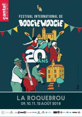 Festival boogie woogie laroquebrou 2018