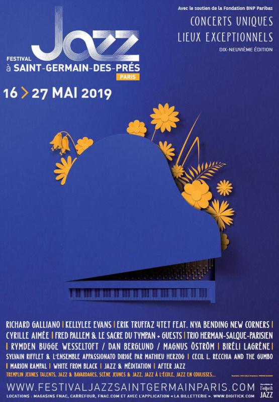 Festival jazz Saint Germain des près 2019