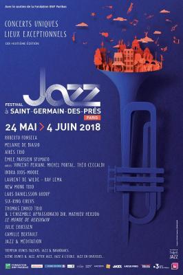 Festival jazz st germain des Prés 2018