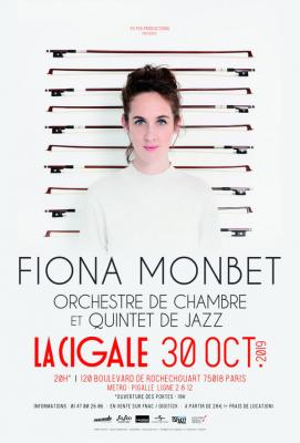 Fiona Monbet concert à La cigale (octobre 2019)