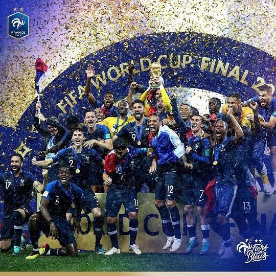 France champion du monde 2018 foot