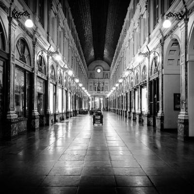 Galeries royales St Hubert à Bruxelles