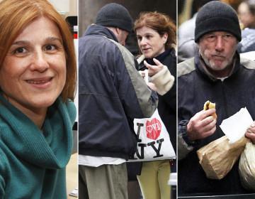 Elle offre sa pizza à R. Gere