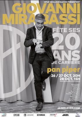 Giovanni Mirabassi - concert Pan piper