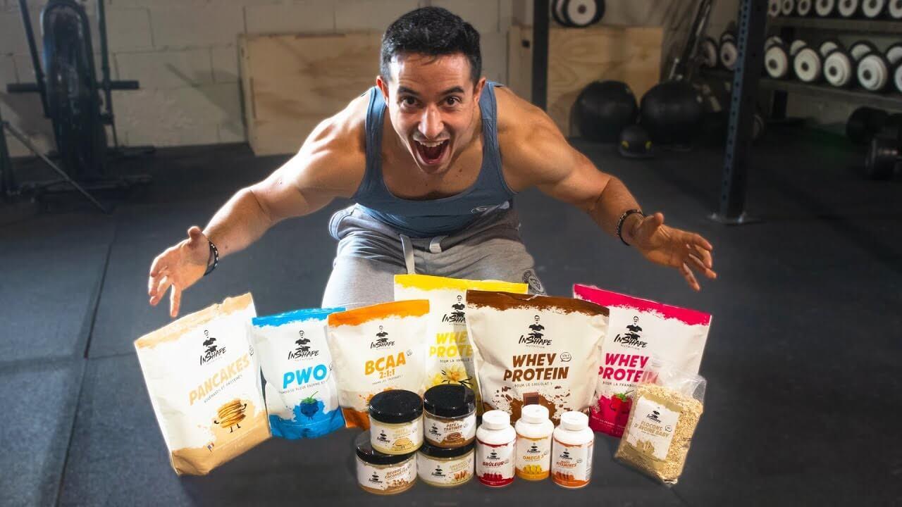 Inshape nutrition : compléments alimentaires Tibo inshape