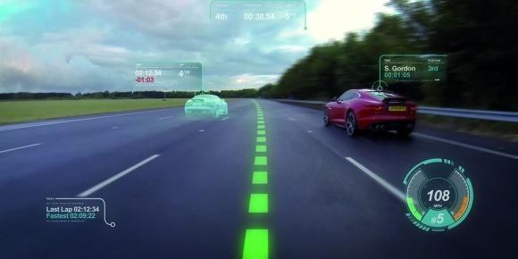 Jaguar : réalité augmentée