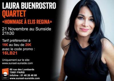 Laura Buenrostro concert Sunside