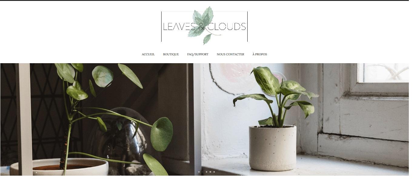 Leaves and clouds e-shop d'EnjoyPhoenix