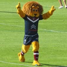 Léo le lion (mascotte de l'UBB)
