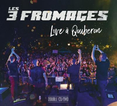 Les 3 fromages DVD live à Quiberon (crédit Mathieu Ezan)
