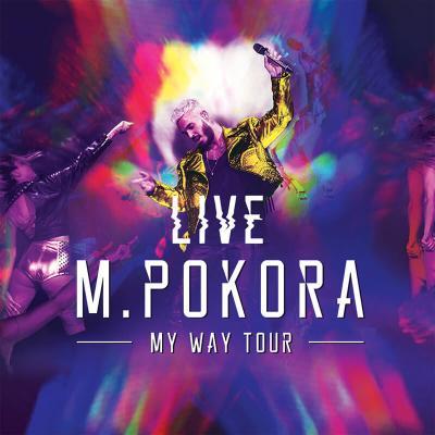 M Pokora : My way tour live - cover DVD