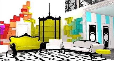 Maison Secret Story 8 : salon