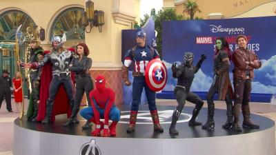 Marvel en VR à Disneyland Paris