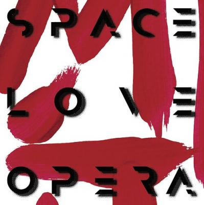 Marylou in Time - artwork Space love opera