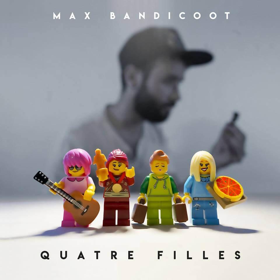 Max Bandicoot présente son EP Quatre filles