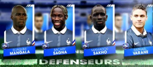 Mondial de foot 2014 defenseurs