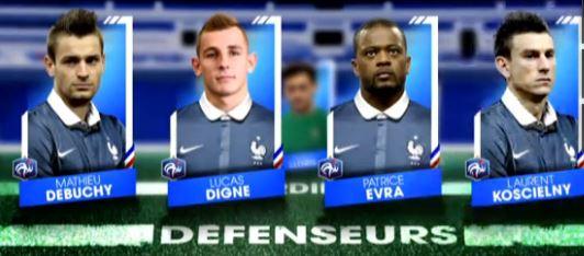 Mondial de foot 2014 défenseurs