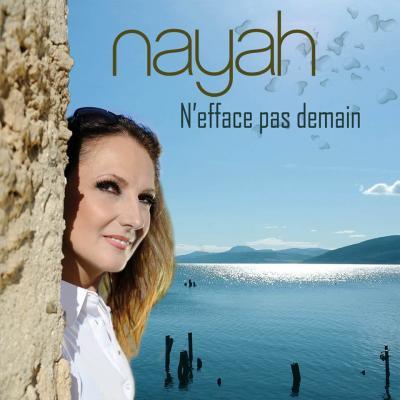 Nayah - Pochette album N'efface pas demain