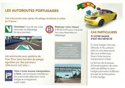Notice Topeurop APRR - AREA au Portugal
