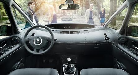 Nouveau Renault Espace intérieur (modèle 2015)