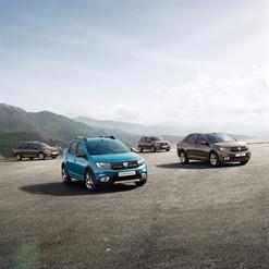 Nouvelle gamme Dacia
