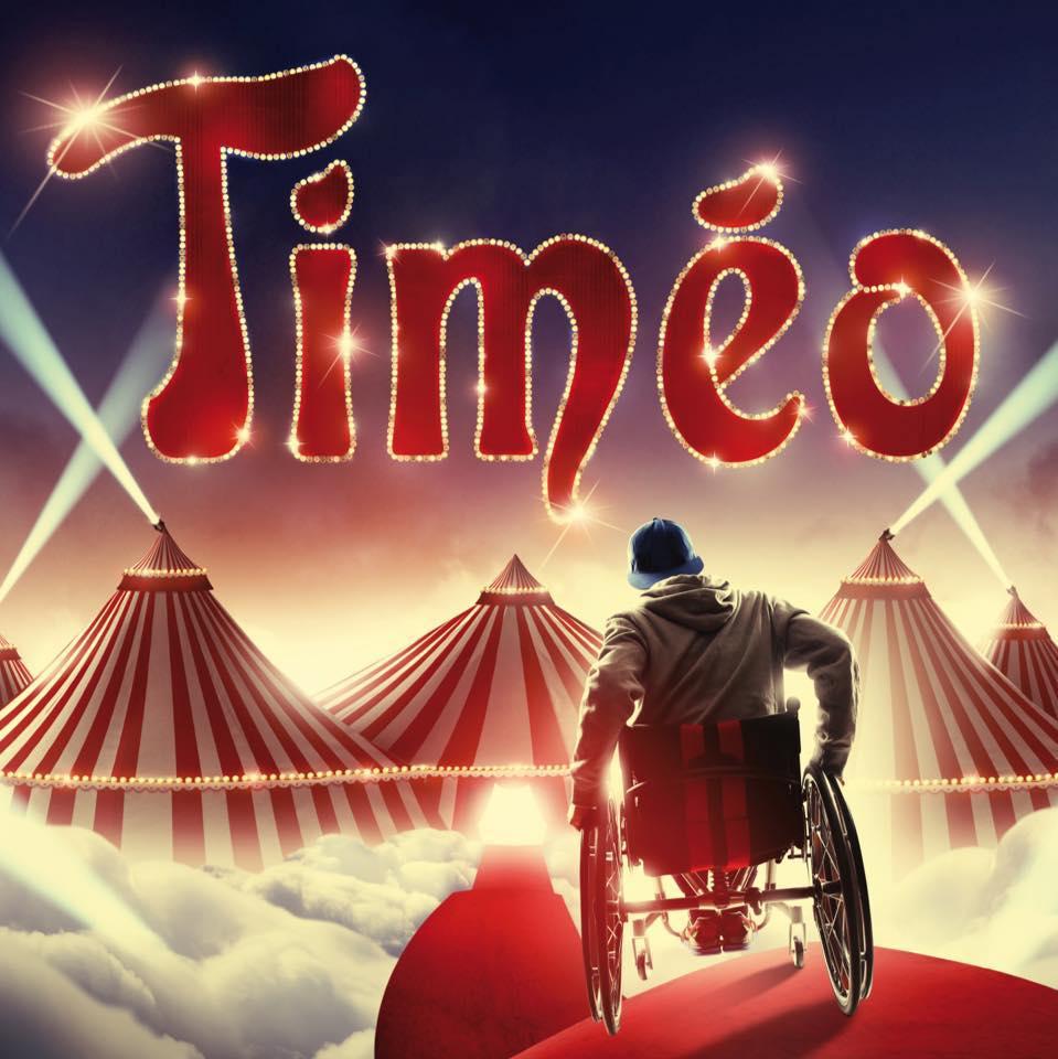 Visuel de l'affiche de la pièce de théâtre Timéo