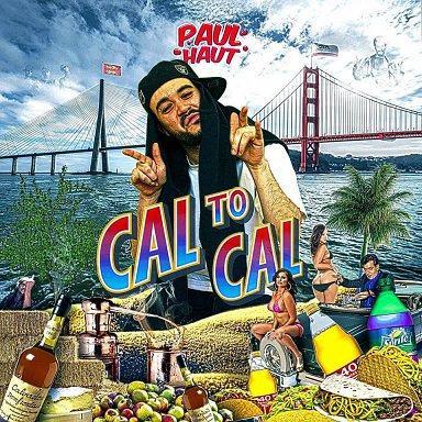 Pochette mixtape Cal to Cal - Paul Haut