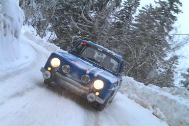 Renault 8 -rallye Monte Carlo