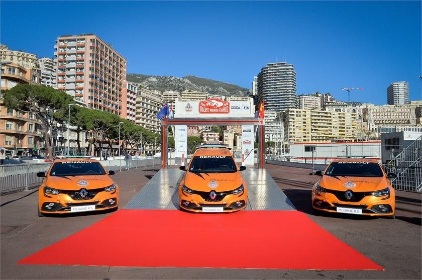 Renault Megane RS - automobile club Monaco