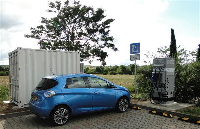 Renault recharge électrique