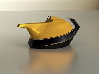 Renault théière yellow teapot
