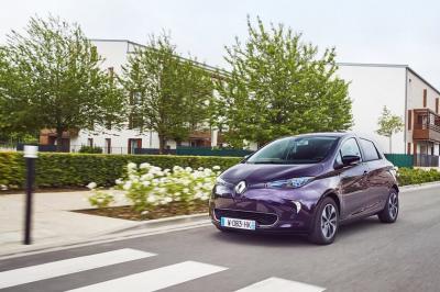 Renault voiture électrique en autopartage à Paris